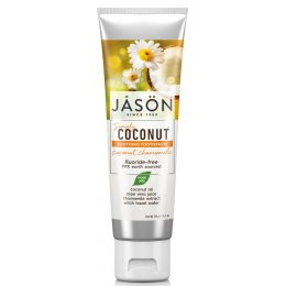 Jason Coconut Chamomile Fluoride Free Toothpaste - 119g