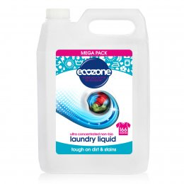 Ecozone Ultra Concentrated Non-Bio Laundry Liquid - 5L - 166 Washes