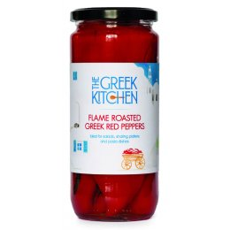 The Greek Kitchen Flame Roasted Red Peppers - 360g