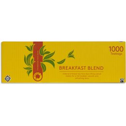 Traidcraft Fair Trade Breakfast Blend Tea Catering Pack - 1000 Bags