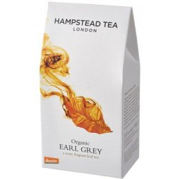 Hampstead Tea Organic Earl Grey Tea - Loose Leaf - 100g