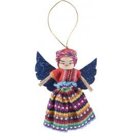 Guatemalan Christmas Angel Worry Doll