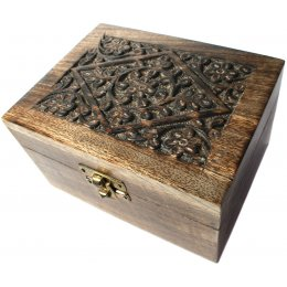 Mango Wood Aromatherapy Oil Box