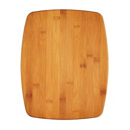 KitchenCraft Large Reversible Bamboo Chopping Board / Cork Trivet