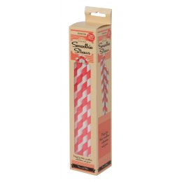 Eddingtons Paper Smoothie Straws - Pack of 25