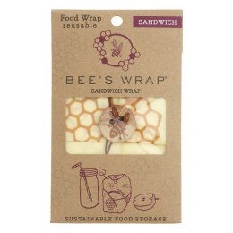 Bees Wrap Sandwich Wrap - Honeycomb