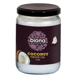 Biona Organic Raw Virgin Coconut Oil - 200g