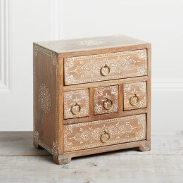Five Drawer Storage Chest