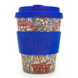 William Morris Reusable Bamboo Coffee Cup - Wandle MkII - 340ml
