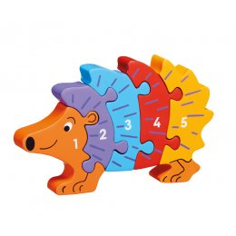 Lanka Kade Wooden Hedgehog 1-5 Jigsaw