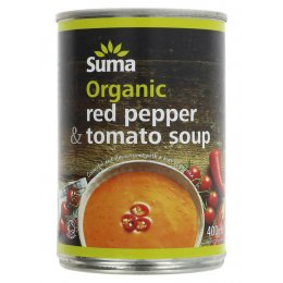 Suma Organic Soup - Red Pepper & Tomato - 400g