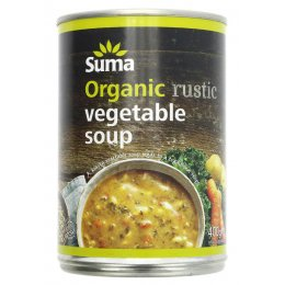 Suma Organic Soup - Rustic Vegetable - 400g