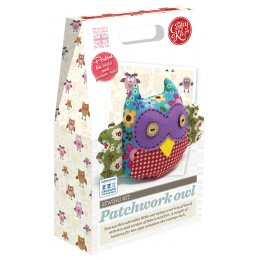 Patchwork Owl Crafty Kit