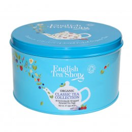 English Tea Shop Round Gift Tin - Classic Tea Collection - 30 bags