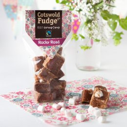 Cotswold Fudge Bag - Rocky Road - 150g