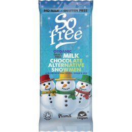 Plamil So Free Organic Milk Alternative Snowmen - 30g