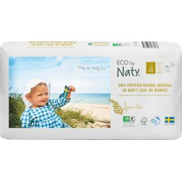 Eco By Naty Disposable Nappies Size 4 Economy Pack -  Maxi - Pack of 44
