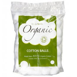 Simply Gentle Organic Cotton Wool Balls - Pack of 100