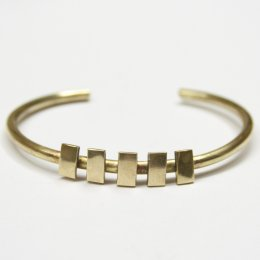 Made Brass Inca Bracelet