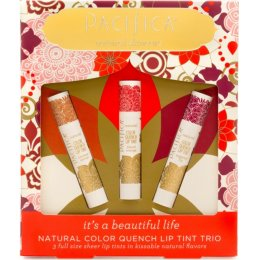 Pacifica Natural Colour Lip Quench Trio