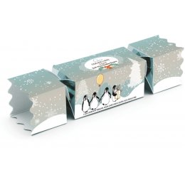 Cocoa Libre Dark Mint Chocolate Penguin Cracker - 40g