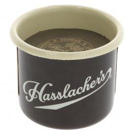 Hasslachers Hot Chocolate with Enamel Mug Gift Set