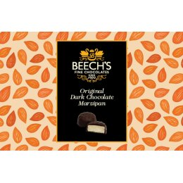 Beechs Dark Chocolate Marzipan - 150g
