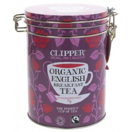 Clipper English Breakfast Tea Gift Caddy - 30 Teabags