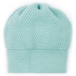Ally Bee Bramble Beanie Hat - Blue Mint