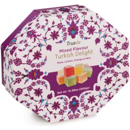 Truede Mixed Flavour Turkish Delight - 300g