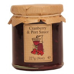 Edinburgh Preserves Cranberry & Port Sauce - 200g