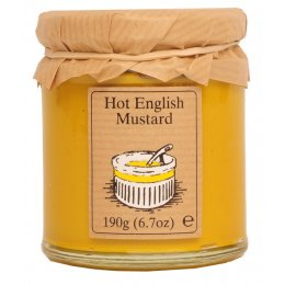Edinburgh Preserves Hot English Mustard - 148ml