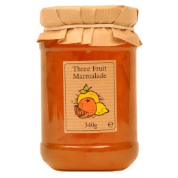 Edinburgh Preserves Three Fruit Marmalade - 340g