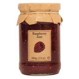 Edinburgh Preserves Raspberry Jam - 340g