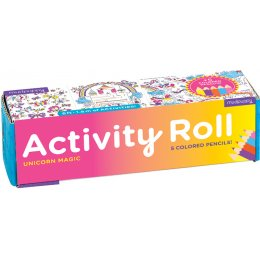 Mudpuppy Unicorn Activity Roll