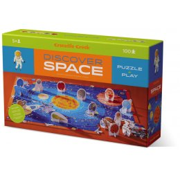 Crocodile Creek Space Discover Jigsaw Puzzle - 100 Piece