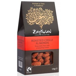 Zaytoun Chilli Roasted Almonds - 140g