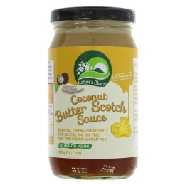Natures Charm Vegan Coconut Butterscotch Sauce - 400g