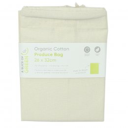 A Slice of Green Organic Cotton Produce Bag - Medium