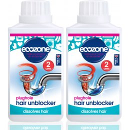Ecozone Plughole Hair Unblocker Kit