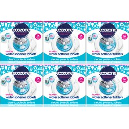 Ecozone Laundry Water Softer Tablets Kit - 6 x 12