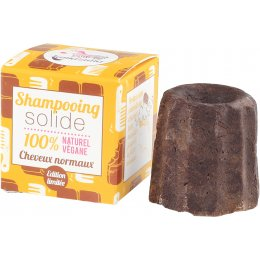 Lamazuna Chocolate Solid Shampoo Bar - 55g