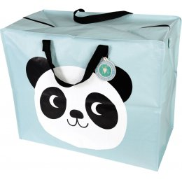 Recycled Jumbo Storage Bag - Miko the Panda
