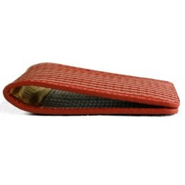 Elvis & Kresse Reclaimed Firehose Double Card Holder
