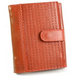 Elvis & Kresse Reclaimed Firehose Folding Purse - Red