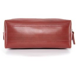 Elvis & Kresse Reclaimed Firehose Medium Wash Bag - Red