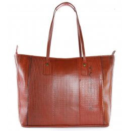 Elvis & Kresse Reclaimed Firehose Tote Bag - Red
