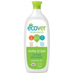 Ecover Washing Up Liquid - Lemon - 1 litre