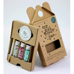 Three Piece Biodegradable Glitter Kit - Blends Box no.3