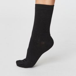 Thought Womens Solid Jackie Bamboo Socks
